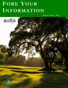 """March/April 2021  """"Fore Your Information"""""""