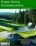 """May/June 2018 Issue """"Fore Your Information"""""""