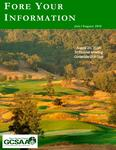 "July/August 2018 Issue ""Fore Your Information"""